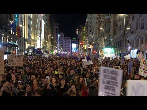 La prohibición de manifestaciones del 8M centra la actualidad política