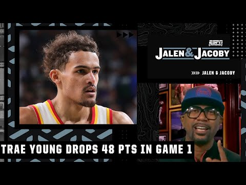 Jalen Rose reacts to Trae Young dropping 48 points on the Bucks in Game 1 | Jalen & Jacoby