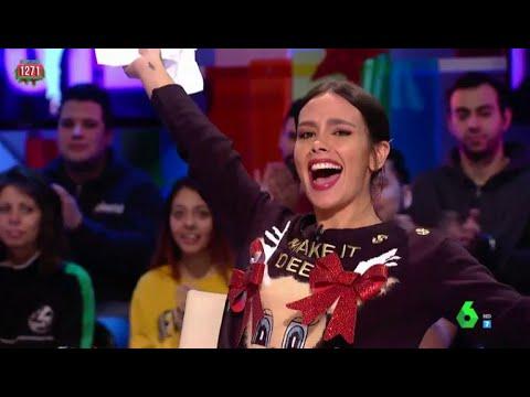 Cristina Pedroche elige Tot-Hom, la marca de Marta Rota, para su vestido de Campanadas