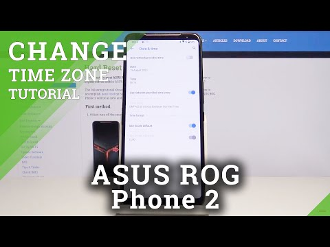 How to Change Time in ASUS ROG Phone 2 – Time & Date Settings