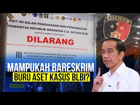Buru Aset Kasus BLBI, Jokowi Libatkan Bareskrim