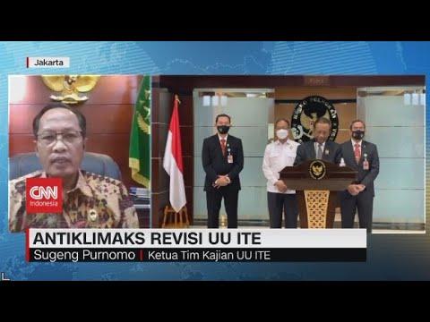 Ketua Tim Kajian UU ITE: Kami Sadar Ada Tafsir Beda di Implementasi UU ITE, Maka Kami Susun Pedoman