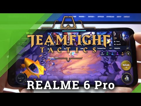 TFT Mobile in REALME 6 Pro – Gameplay