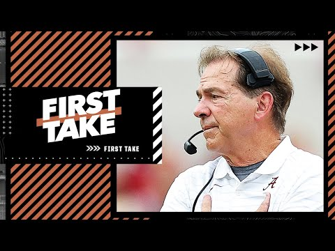 Acho says Alabama might still miss playoff even if they beat Georgia | First Take
