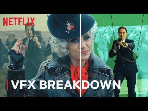 The Umbrella Academy Final Battle VFX Breakdown | Netflix