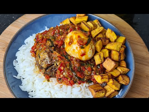 THE BEST NIGERIAN SMOKED PANLA FISH SAUCE/ PERFECT SPICY FISH STEW/PEPPERED FISH