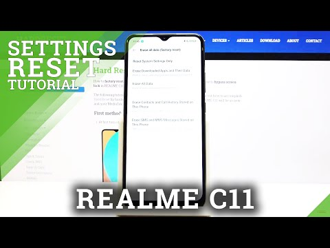How to Reset System Settings in REALME C11 – Restore Default Settings