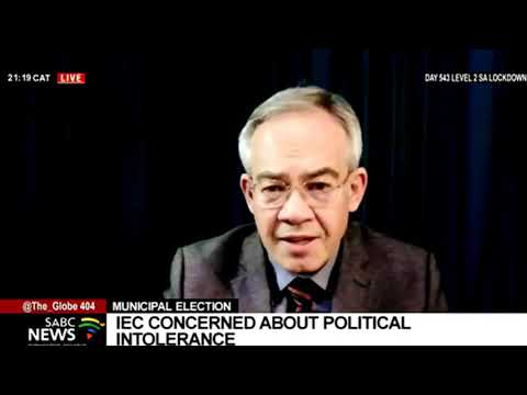 LGE 2021   ConCourt approves IEC application to reopen LGE candidate submission: Prof Dirk Kotze
