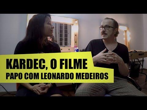 LEONARDO MEDEIROS conta como foi interpretar ALLAN KARDEC - Filme KARDEC