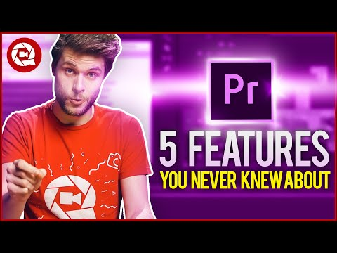 5 HIDDEN FEATURES in PREMIERE PRO (must know)