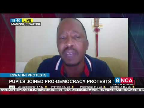 Eswatini Protests | Soldiers and police deployed at schools