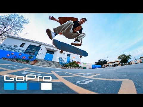 GoPro: Skate Spotlight   Getting Low and Up Close with Dr. Purple Teeth