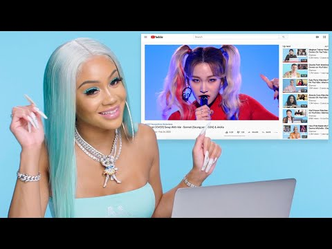 Saweetie Watches Fan Covers On TikTok and YouTube   Glamour