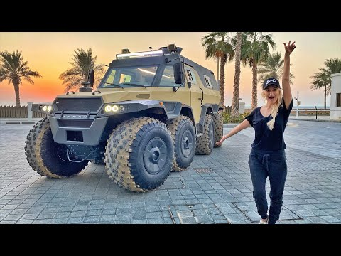 8x8 Floating Monster Truck Spotted in Dubai