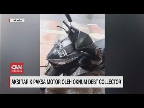 Aksi Tarik Paksa Motor Oleh Oknum Debt Collector