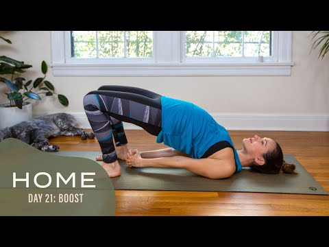 Home - Day 21 - Boost  |  30 Days of Yoga With Adriene