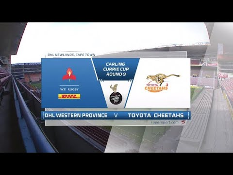 Currie Cup Premier Division   DHL Western Province v Toyota Cheetahs   Highlights