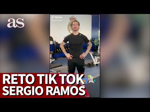 Sergio Ramos se suma a unos de los 'challenge' más virales de TikTok   Diario AS