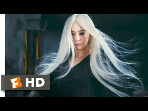 The White Haired Witch (2015) - The Witch's Revenge Scene (9/10) | Movieclips