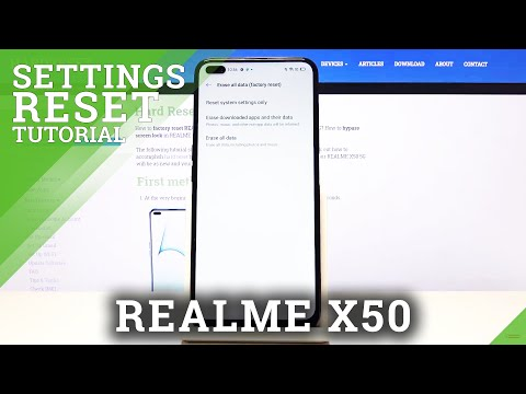 How to Reset System Settings in REALME X50 5G – Restore Default Settings