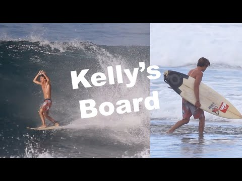 """Session Of My Life On Kelly Slater's Surfboard"" 