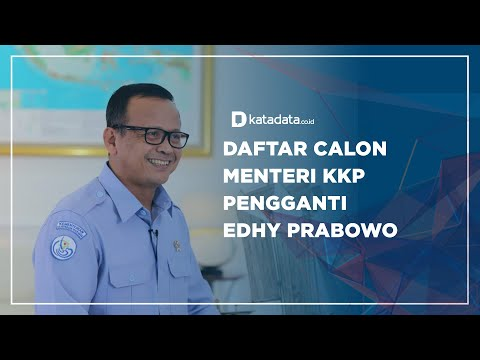 Daftar Calon Menteri KKP Pengganti Edhy Prabowo | Katadata Indonesia
