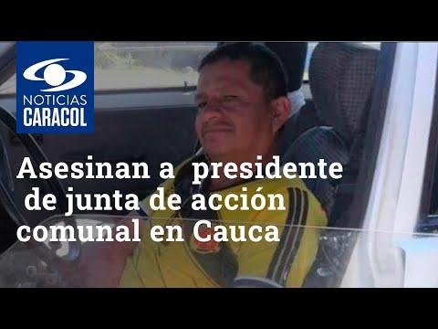Asesinan a Sigifredo Gutiérrez, presidente de junta de acción comunal en Morales, Cauca