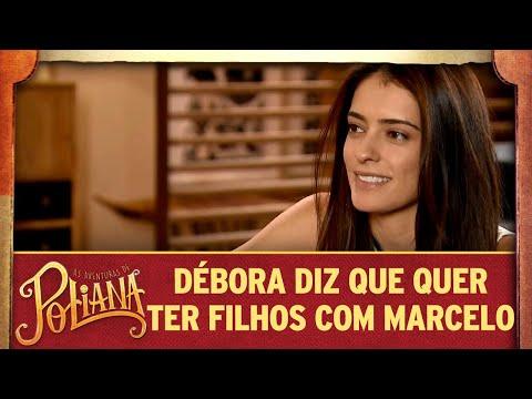 Débora diz que quer ter filhos com Marcelo | As Aventuras de Poliana