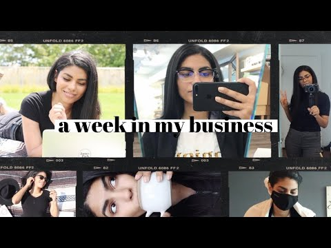 Work Week in My Life as a Freelancer | I Need Glasses, Simple Email List Builder + Client Boundaries