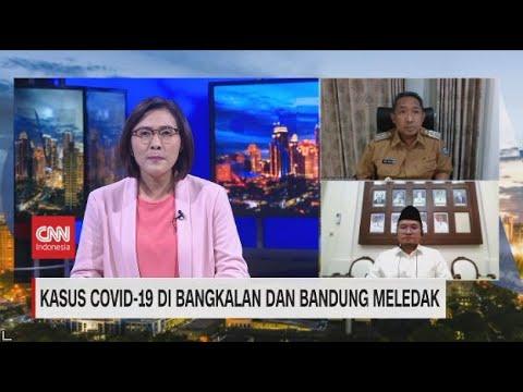 Kasus Covid-19 Di Bangkalan dan Bandung Meledak