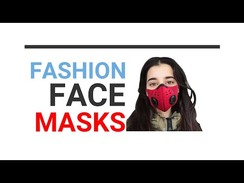 Fashion Face Air Pollution Masks