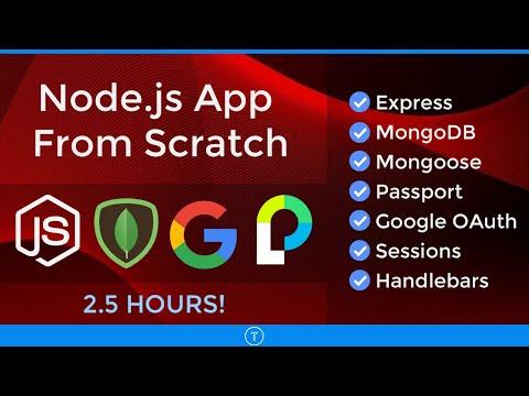 Node.js App From Scratch | Express, MongoDB & Google OAuth