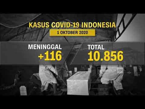 Update Covid-19 1 Oktober: Kasus Positif Bertambah 4.174 Kasus