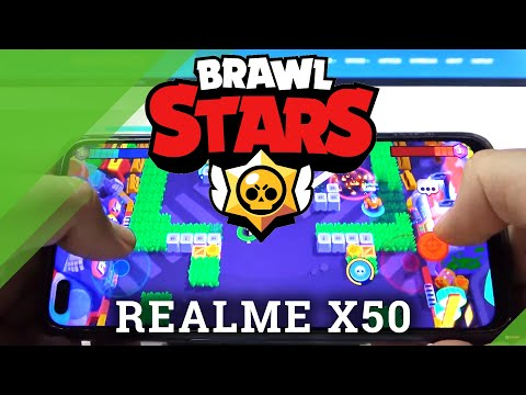 Brawl Stars Gameplay on REALME X50 – Quality Checkup