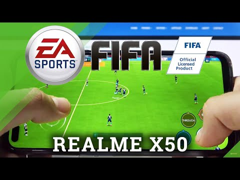 FIFA Mobile on REALME X50 – Gaming Quality