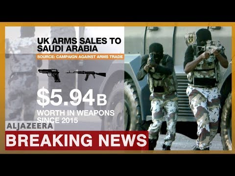 Arms sales to Saudi Arabia 'unlawful', rules UK's top court