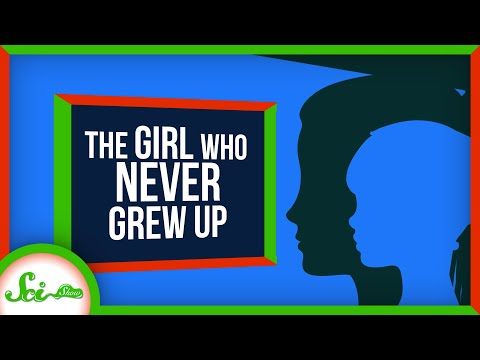 The Girl Who Never Grew Up