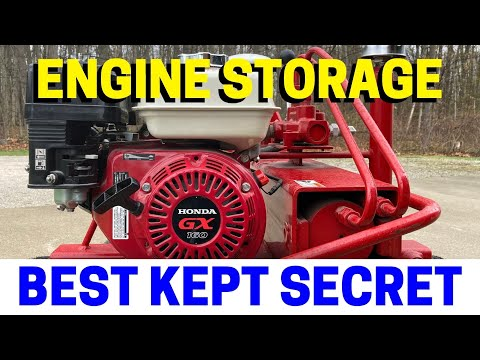 The BEST & EASIEST Way To Store Gasoline Engines For Months Or Even Years