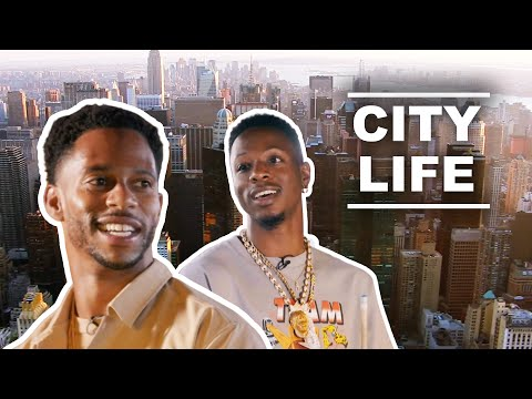 How Victor Cruz & Joey Bada$$ Carry the Spirit of NYC with Them Everywhere They Go   City Life