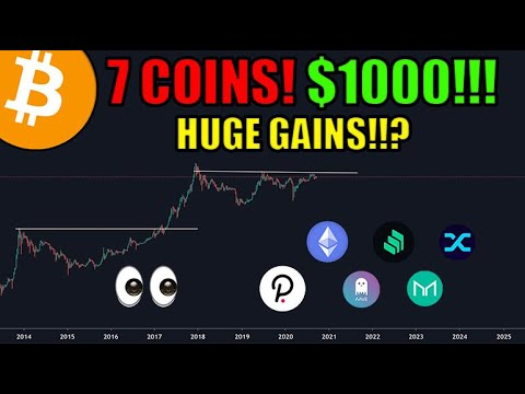 7 Coins For Huge Gains   How I Would Invest $1000 In Cryptocurrency Today! [DEFI EDITION]   Bitcoin