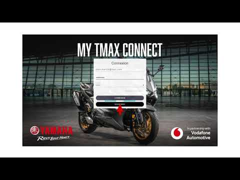 My TMAX Connect (FRA) – Activation MY2021