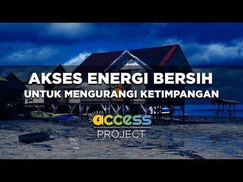 Akses Energi Bersih untuk Mengurangi Ketimpangan (ACCESS project) | Katadata Indonesia