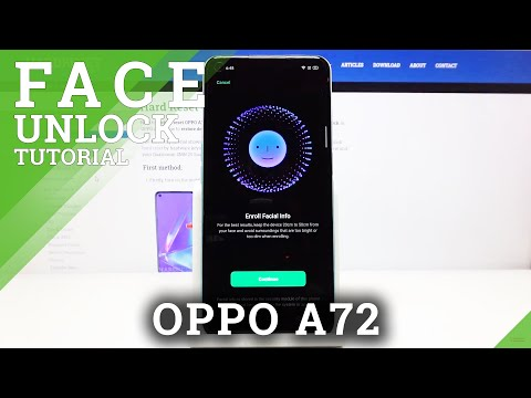 How to Set Up Face Unlock in Oppo A72 - Best Protection Method
