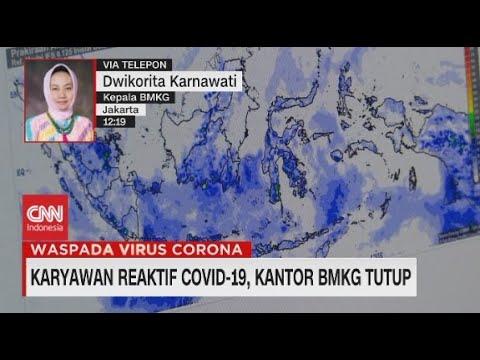 Karyawan Reaktif Covid-19, Kantor BMKG Tutup