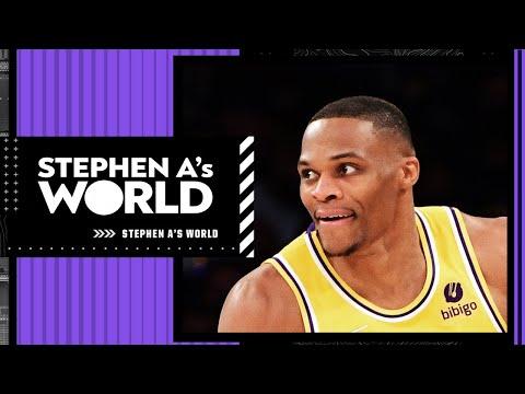 IT'S THE PRESEASON! - Stephen A's not worried about Westbrook's preseason games | Stephen A's World
