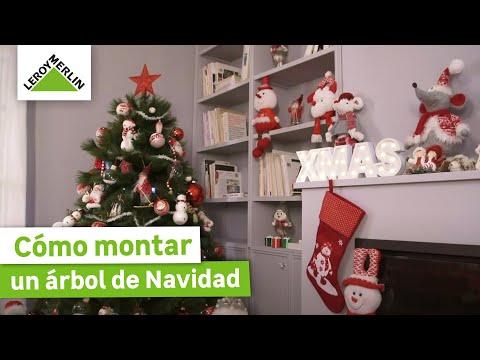 Cómo montar un árbol de Navidad (Leroy Merlin)