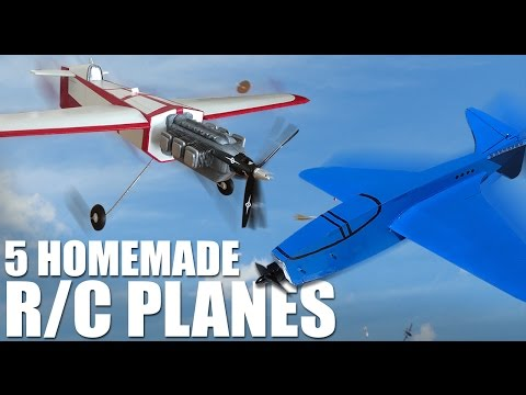 5 Incredible Homemade RC Planes | Flite Test | ImpressPages.lt