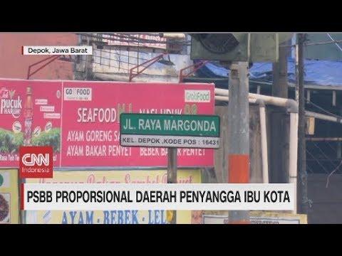 PSBB Proporsional Daerah Penyangga Ibu Kota
