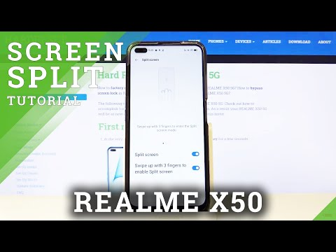 How to Split Screen in REALME X50 5G – Create Double Screen