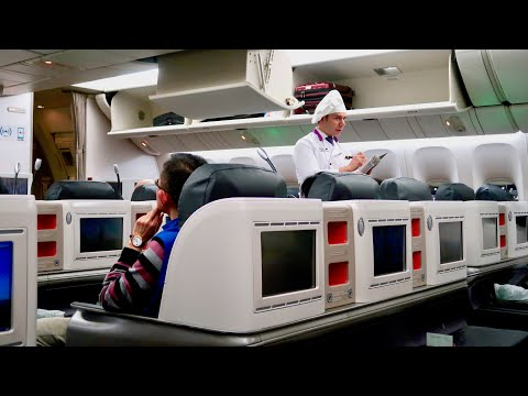 Turkish Airlines B777 Business Class: Istanbul to Hong Kong trip report (chef onboard!)